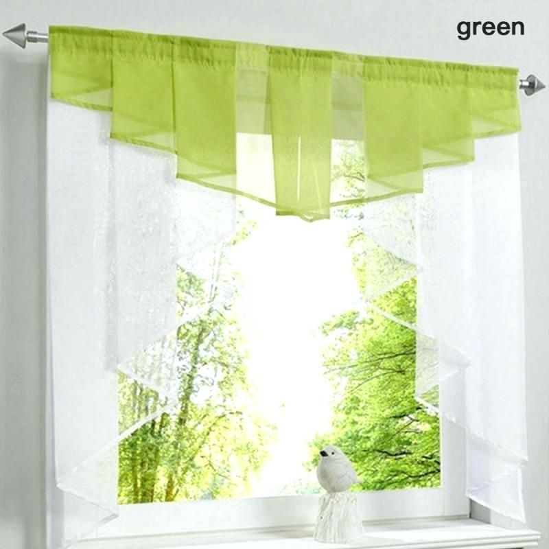 Sheer Window Curtains – Mynewfamily Intended For Knotted Tab Top Window Curtain Panel Pairs (#30 of 50)