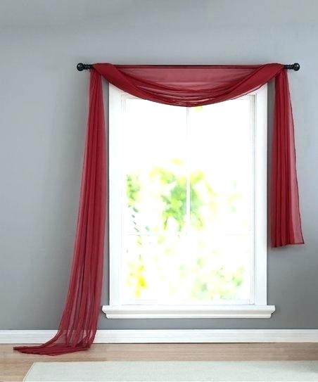 Sheer Window Scarf – Anadoluseker Throughout Infinity Sheer Rod Pocket Curtain Panels (#35 of 50)