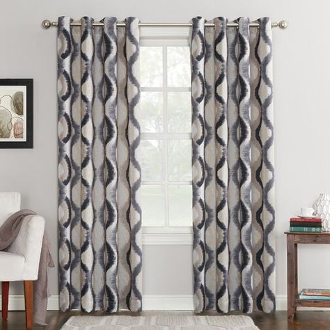 Shop Aurora Home Thermal Insulated Blackout Grommet Top Regarding Silvertone Grommet Thermal Insulated Blackout Curtain Panel Pairs (#34 of 35)