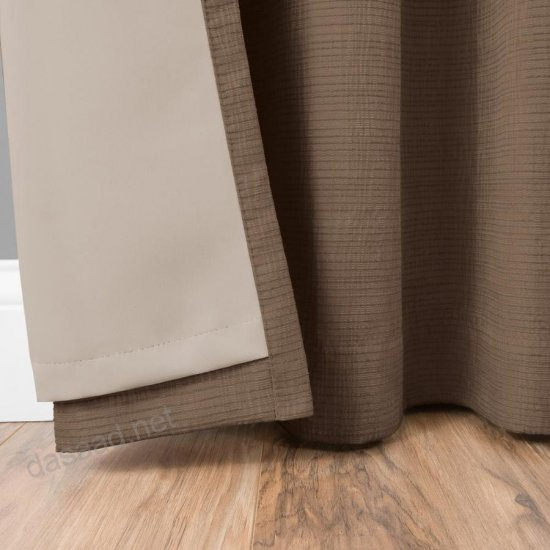 Shop Eclipse Trevi 108 In Chocolate Polyester Grommet With Regard To Eclipse Trevi Blackout Grommet Window Curtain Panels (View 22 of 26)