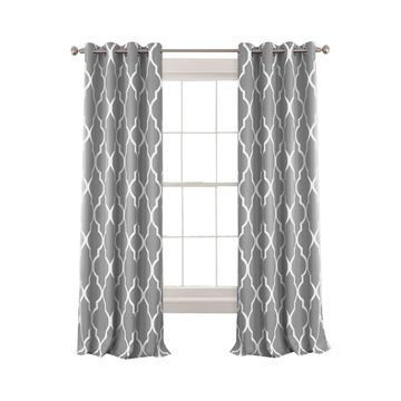 Shop Elrene Coupons & Deals With Cash Back | Rakuten Within Elrene Versailles Pleated Blackout Curtain Panels (View 34 of 38)