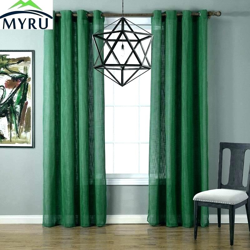 Shop Exclusive Fabrics Signature Hunter Green Velvet Within Signature Blackout Velvet Curtains (#27 of 50)