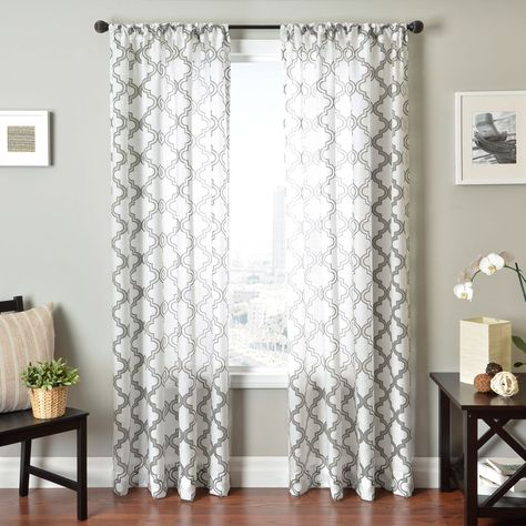 Shop For Aurora Home Faux Silk Reverse Moroccan Grommet In Keyes Blackout Single Curtain Panels (View 38 of 50)