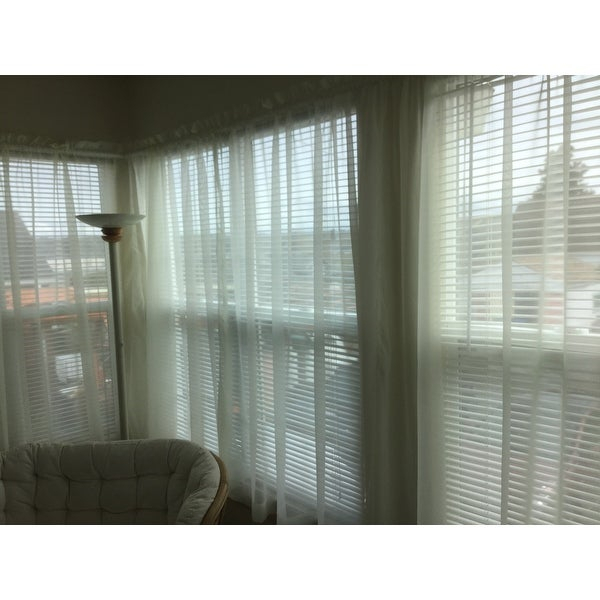 Shop Pairs To Go Victoria Voile Curtain Panel Pair – On Sale With Regard To Pairs To Go Victoria Voile Curtain Panel Pairs (#23 of 30)