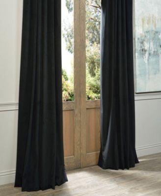 Signature Blackout Velvet 50 X 120 Curtain Panel   Products Inside Signature Blackout Velvet Curtains (#29 of 50)