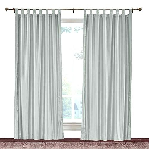Silk Blackout Curtains – Visitrotterdam Inside Overseas Faux Silk Blackout Curtain Panel Pairs (#38 of 41)
