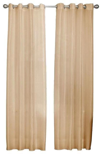 Silk Curtain Panels – Feriaespiritualmente With Faux Silk Extra Wide Blackout Single Curtain Panels (View 43 of 50)