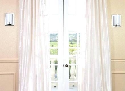 Silk Drape Panels – Bajinabasta Regarding Off White Vintage Faux Textured Silk Curtains (#38 of 50)