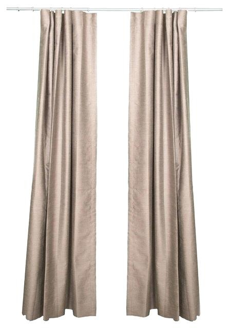 Silk Grey Curtains – Lebaux (View 40 of 50)