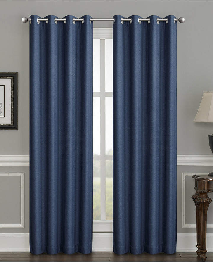 """Silk Home Living Sun+Block Thermal Weave Blackout Grommet Single Curtain  52""""x84"""" With Embossed Thermal Weaved Blackout Grommet Drapery Curtains (View 35 of 42)"""