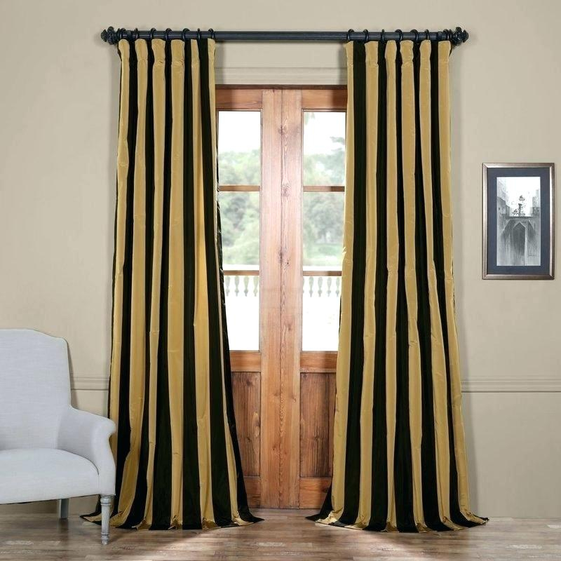 Silk Taffeta Drapes Faux Curtains Curtain Panels Lined X Throughout Faux Silk Extra Wide Blackout Single Curtain Panels (View 44 of 50)