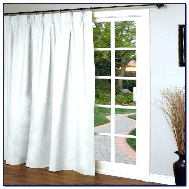 Single Curtains For Doors For Nantahala Rod Pocket Room Darkening Patio Door Single Curtain Panels (#37 of 50)