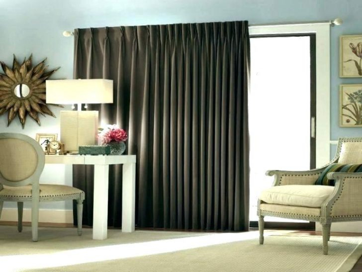Slider Door Curtain Panels Sliding Patio Glass Drapery Teal In Grommet Blackout Patio Door Window Curtain Panels (View 37 of 50)