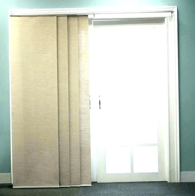 Sliding French Door Curtains – Popchai Intended For Inez Patio Door Window Curtain Panels (View 29 of 50)