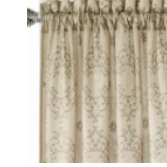 Sold New! 4 Packages Of Taupe Curtains Nwt Pertaining To Light Filtering Sheer Single Curtain Panels (View 30 of 38)