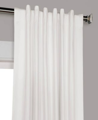 Solid Cotton Blackout 50 X 84 Curtain Panel In 2019 | Panel Intended For Solid Cotton Curtain Panels (#39 of 47)