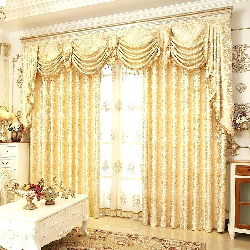Striped Sheer Curtains Golden Royal Luxury Curtain Polyester With Montpellier Striped Linen Sheer Curtains (#45 of 50)