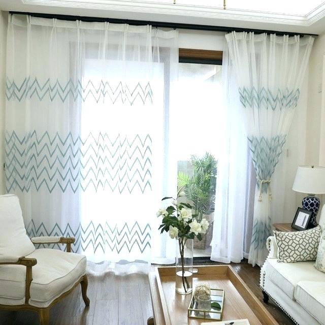 Striped Sheer Curtains Multi Colored Window – Examples Home Intended For Montpellier Striped Linen Sheer Curtains (#46 of 50)