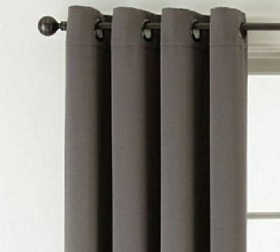 *studio Mckenna Room Darkening Grommet Top Curtain Panel 50Wx84L Gray Moon  New 681565484056 | Ebay Inside Grommet Room Darkening Curtain Panels (View 1 of 50)