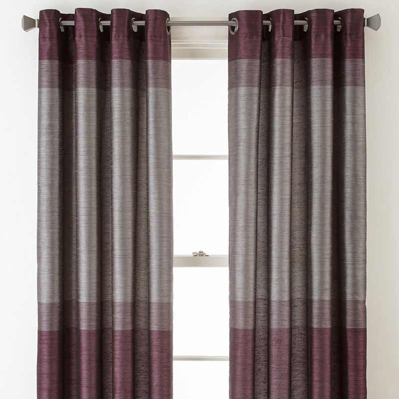 Studio™ Quintet Lined Grommet Top Curtain Panel | Products Regarding Lined Grommet Curtain Panels (#24 of 31)