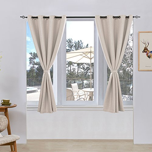 Subrtex Room Thermal Insulated Window Treatment Grommet With Thermaback Blackout Window Curtains (#33 of 36)