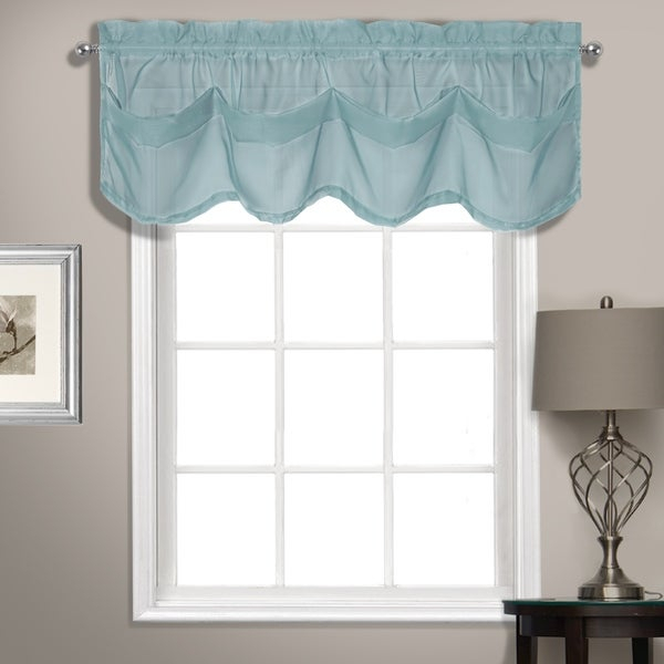 Popular Photo of Luxury Collection Summit Sheer Curtain Panel Pairs