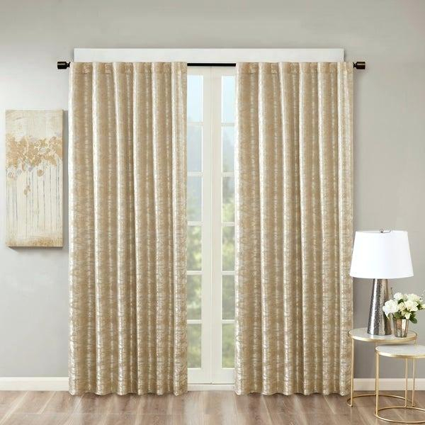 Sun Smart Curtains – Woodland Church Inside Sunsmart Dahlia Paisley Printed Total Blackout Single Window Curtain Panels (#26 of 45)