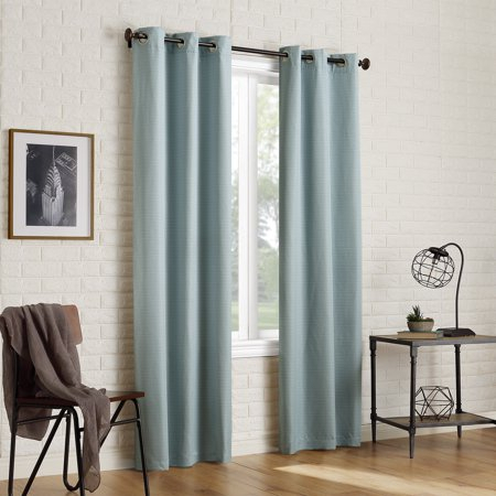 Sun Zero 2 Pack Arlo Textured Thermal Insulated Blackout Intended For Insulated Blackout Grommet Window Curtain Panel Pairs (#34 of 37)