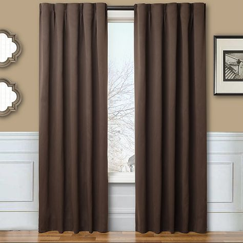 Sun Zero Closeout! Cassidy 52 Intended For Copper Grove Fulgence Faux Silk Grommet Top Panel Curtains (View 43 of 50)
