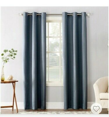 Popular Photo of Cooper Textured Thermal Insulated Grommet Curtain Panels