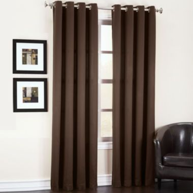 Sun Zero™ Garrett Room Darkening Grommet Top Curtain Panel Pertaining To Davis Patio Grommet Top Single Curtain Panels (View 25 of 39)