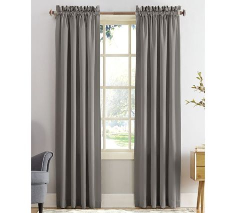 Sun Zero Grant 54 Throughout Copper Grove Fulgence Faux Silk Grommet Top Panel Curtains (View 45 of 50)
