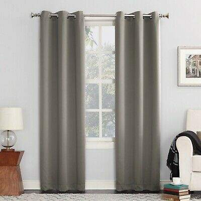 Popular Photo of Hayden Grommet Blackout Single Curtain Panels