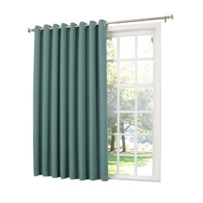 Sun Zero Semi Opaque Mineral Gregory Room Darkening Grommet Intended For Inez Patio Door Window Curtain Panels (#49 of 50)