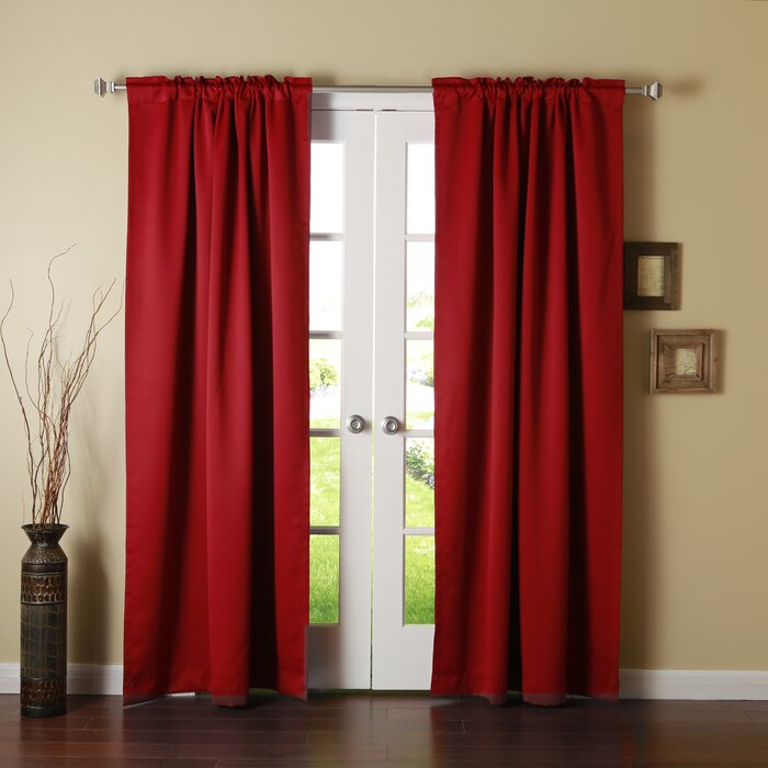 Sweetwater Blackout Solid Thermal Curtain Panels For Signature Pinch Pleated Blackout Solid Velvet Curtain Panels (View 47 of 50)