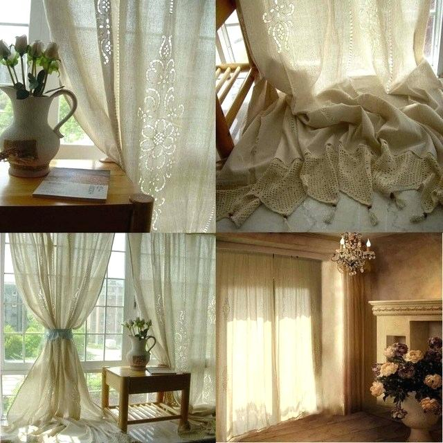 Tab Top Linen Curtains – Gogrowth (#39 of 50)