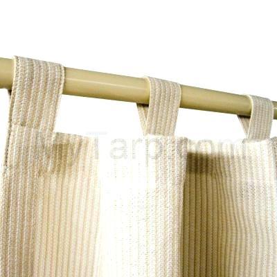 Tab Top Outdoor Curtains Indoor Outdoor Drapery Panels Tab With Matine Indoor/outdoor Curtain Panels (#41 of 50)