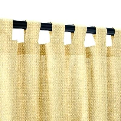 Tab Top Outdoor Curtains Shop Escape Tab Top Indoor Outdoor Regarding Matine Indoor/outdoor Curtain Panels (#42 of 50)