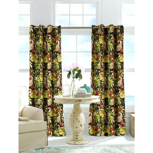 Tab Top Outdoor Curtains Solid Sheer Single Curtain Panel Regarding Matine Indoor/outdoor Curtain Panels (#43 of 50)