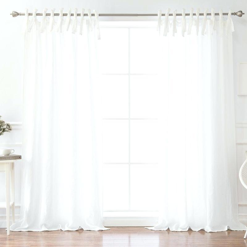 Tab Top Sheer Curtains – Mediajam (View 39 of 50)