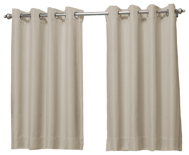 Popular Photo of Tacoma Double Blackout Grommet Curtain Panels