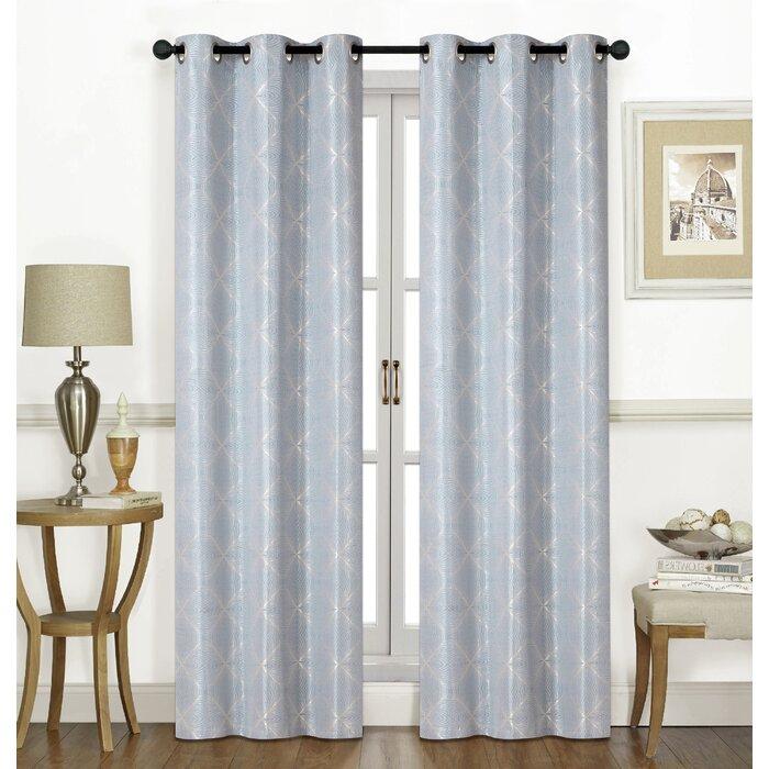 Popular Photo of Grommet Room Darkening Curtain Panels