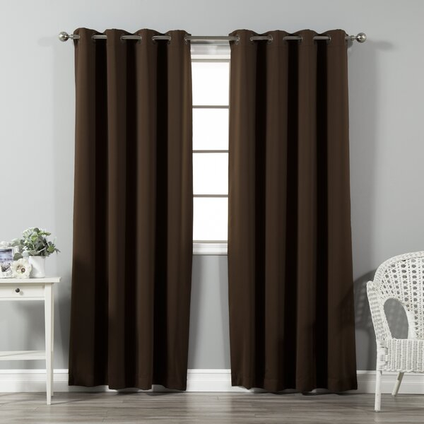 Tan And Blue Curtains | Wayfair For Kaylee Solid Crushed Sheer Window Curtain Pairs (#33 of 40)