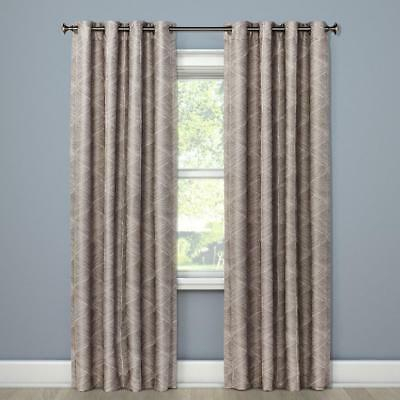 """Target Project 62 Modern Stroke Curtain Panel 84"""" X 50 Pertaining To Intersect Grommet Woven Print Window Curtain Panels (View 41 of 50)"""