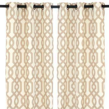 Taupe Curtain Panels – Avalon Master (#37 of 41)