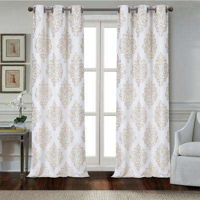 Taupe Curtain Panels – Avalon Master (#27 of 29)