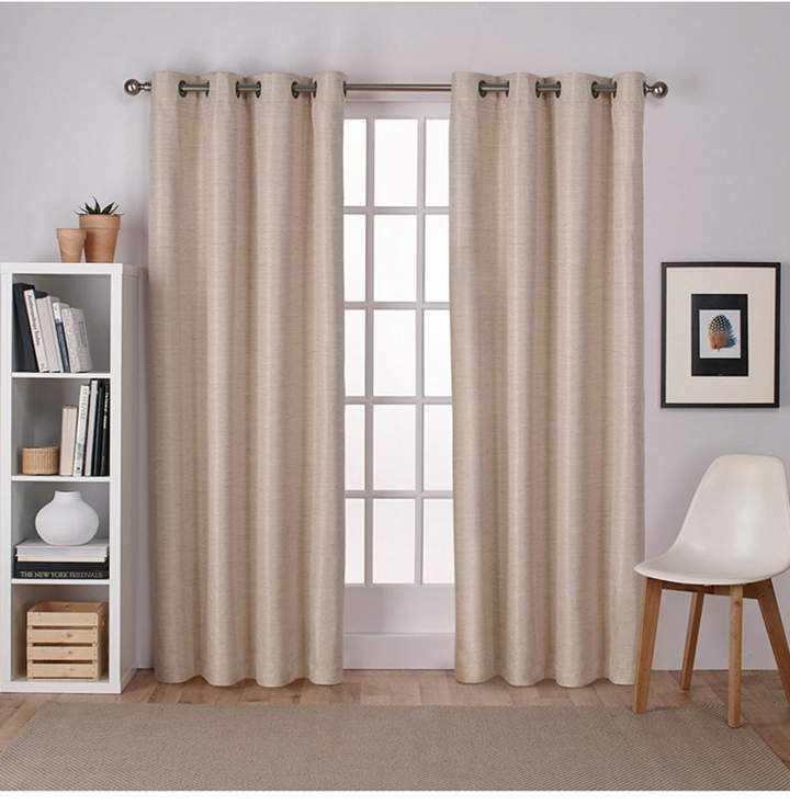 Taupe Grommet Panel – Shopstyle With Regard To Easton Thermal Woven Blackout Grommet Top Curtain Panel Pairs (#41 of 44)