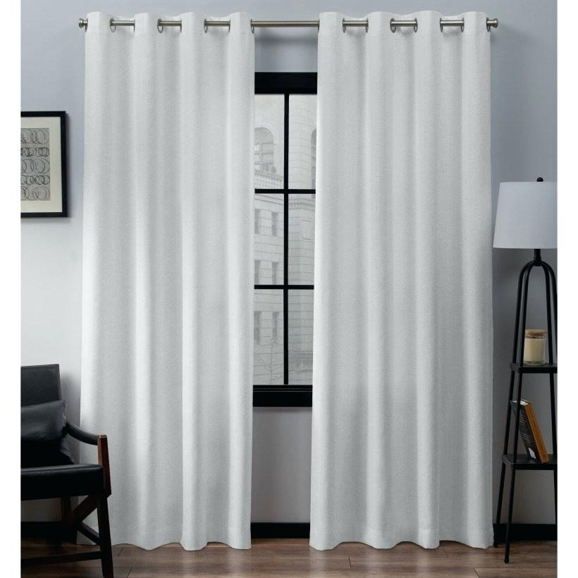 Taylor Lined Grommet Curtain Panel – Milfordlaino (#27 of 31)