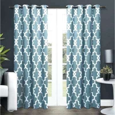 Teal Curtain Panels Blackout Thermal Rod Pocket Single With Thermal Rod Pocket Blackout Curtain Panel Pairs (#45 of 50)