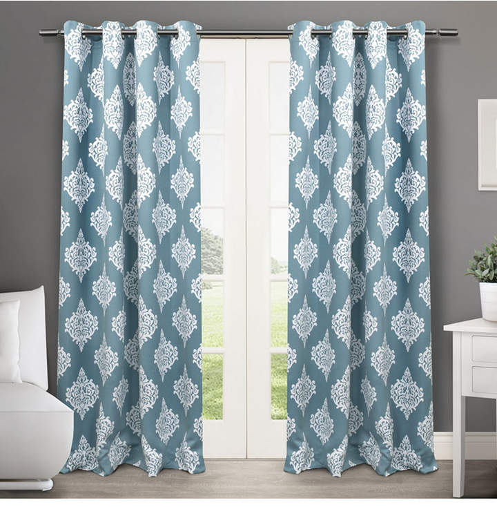 Teal Curtain Panels – Shopstyle Throughout London Blackout Panel Pair (#36 of 41)